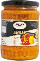 BBP - Hot ajvar of roasted peppers and eggplant 540 grams