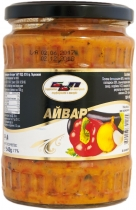 BBP - Ajvar of roasted peppers and eggplant 540 grams